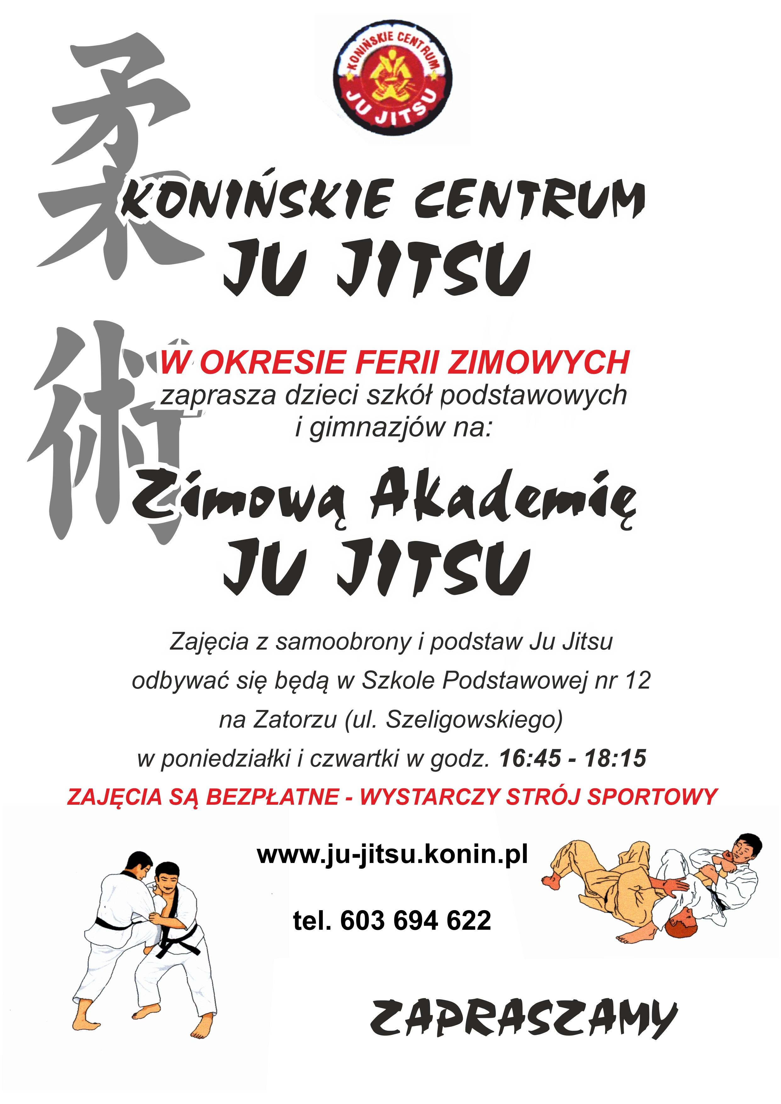 Zimowa Akademia Ju Jitsu